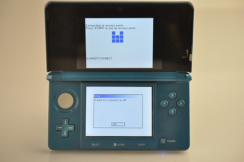 how to connect ds lite to wifi with password